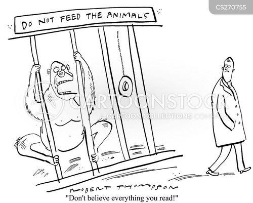 feeding animals cartoon