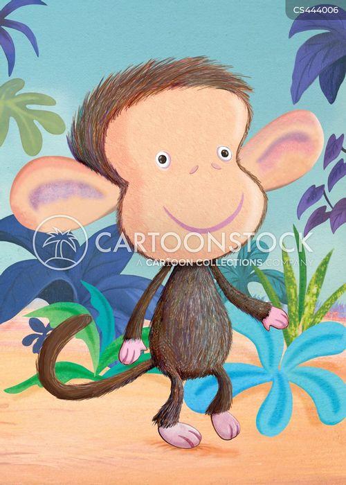 jungle animals cartoon