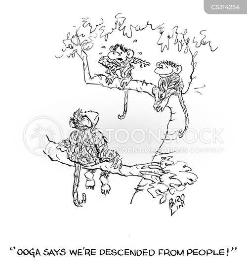 descended cartoon