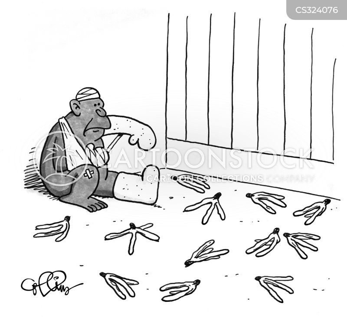 falling over cartoon