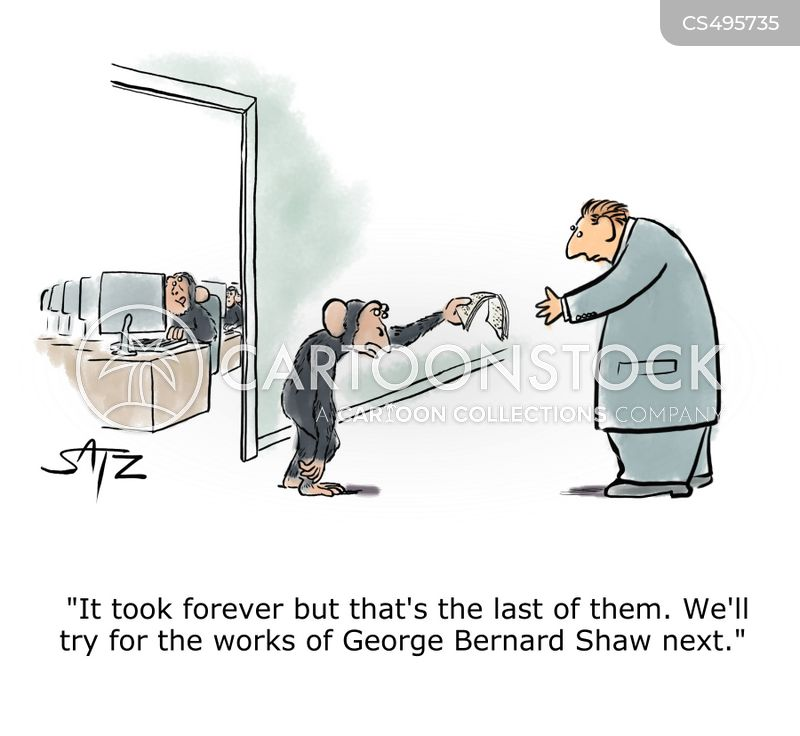 george bernard shaw cartoon