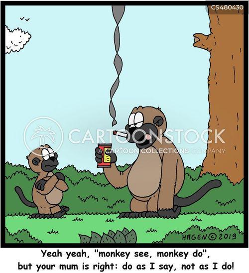 monkey do cartoon