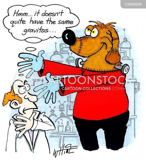 victor frankenstein cartoon