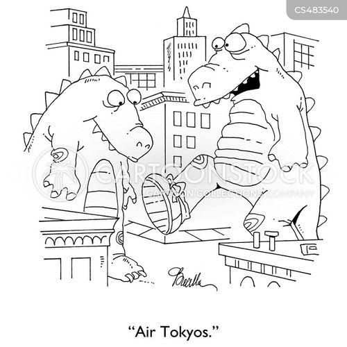 tokyo cartoon