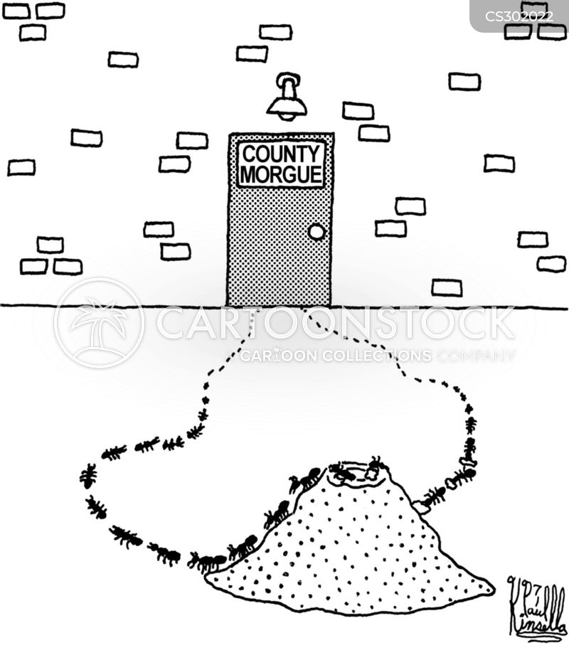 ant hill cartoon