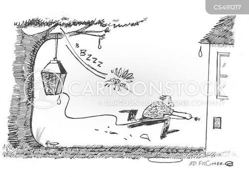 bug control cartoon