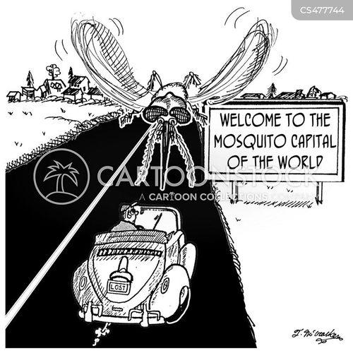 bug problem cartoon