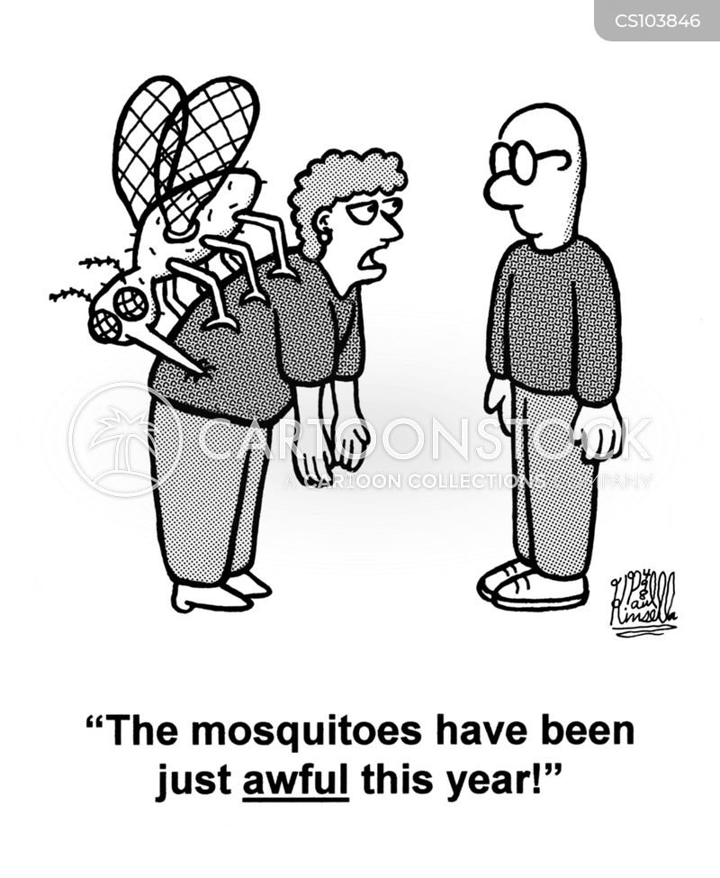 giant insect cartoon