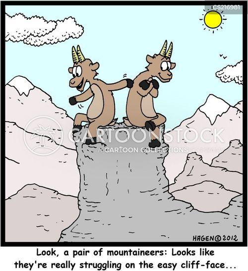 ibex cartoon
