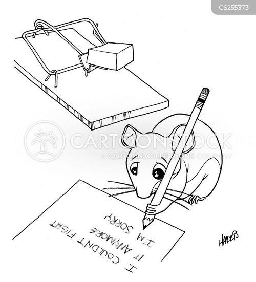 suicide note cartoon