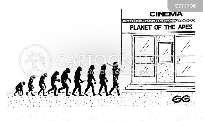 planet of the apes cartoon