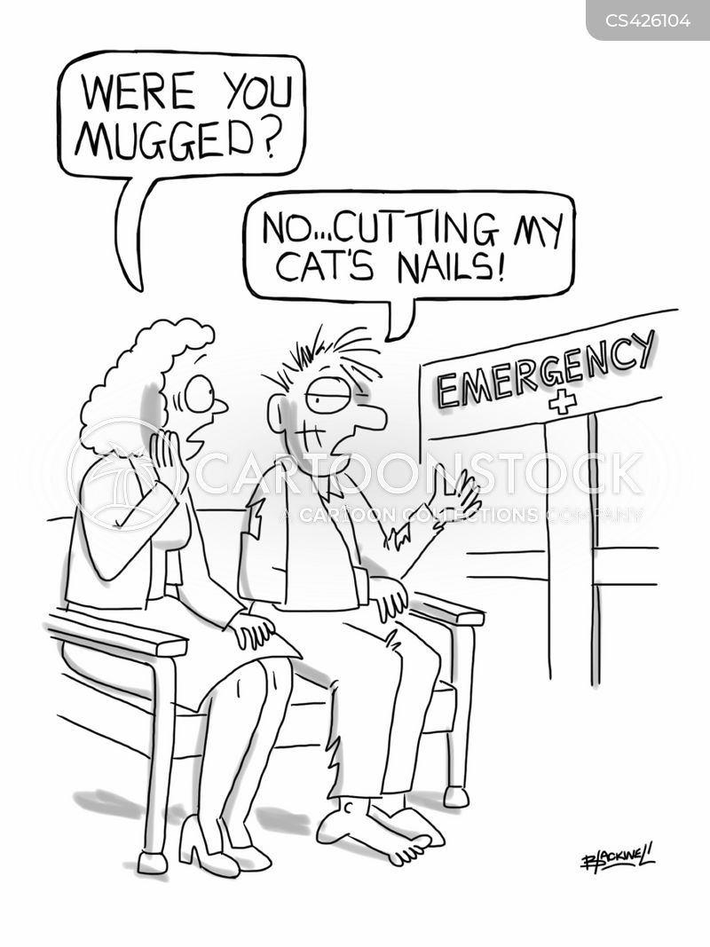 casualty department cartoon