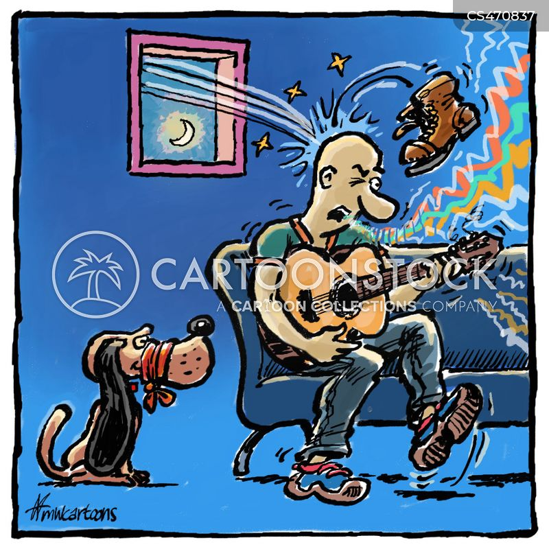 tone deaf cartoon