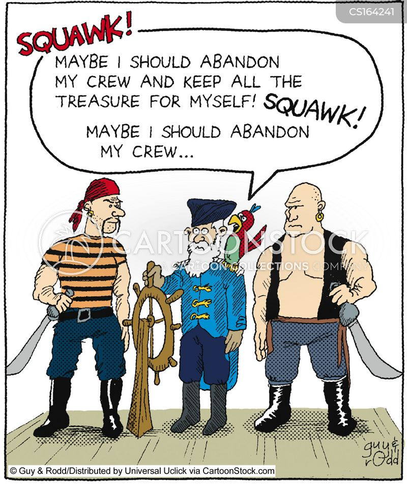buccaneer cartoon