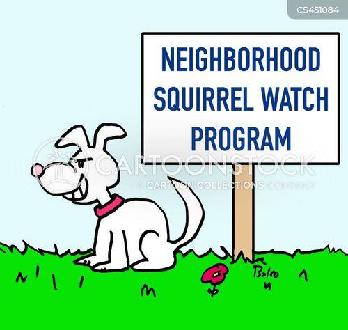 neighborhood watch cartoon