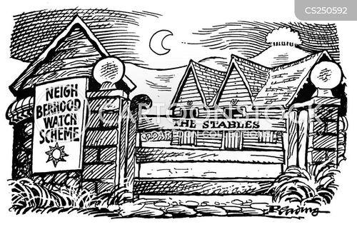 neghbourhood watch schemes cartoon