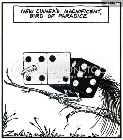 new guinea cartoon