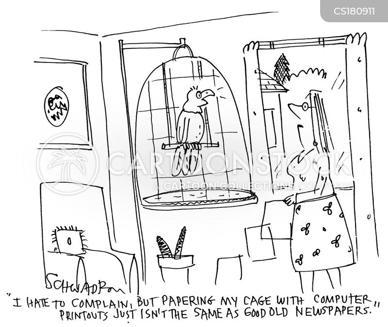 caged cartoon