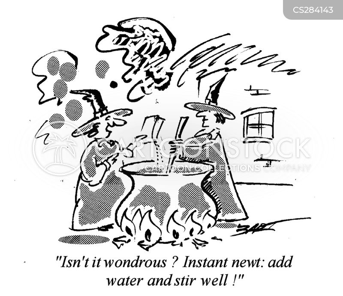 newts cartoon