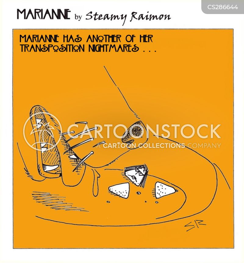 dream interpretation cartoon
