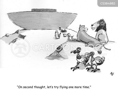 extinct animal cartoon