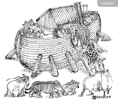 over-crowding cartoon