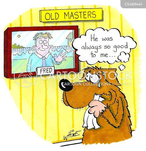 old master cartoon