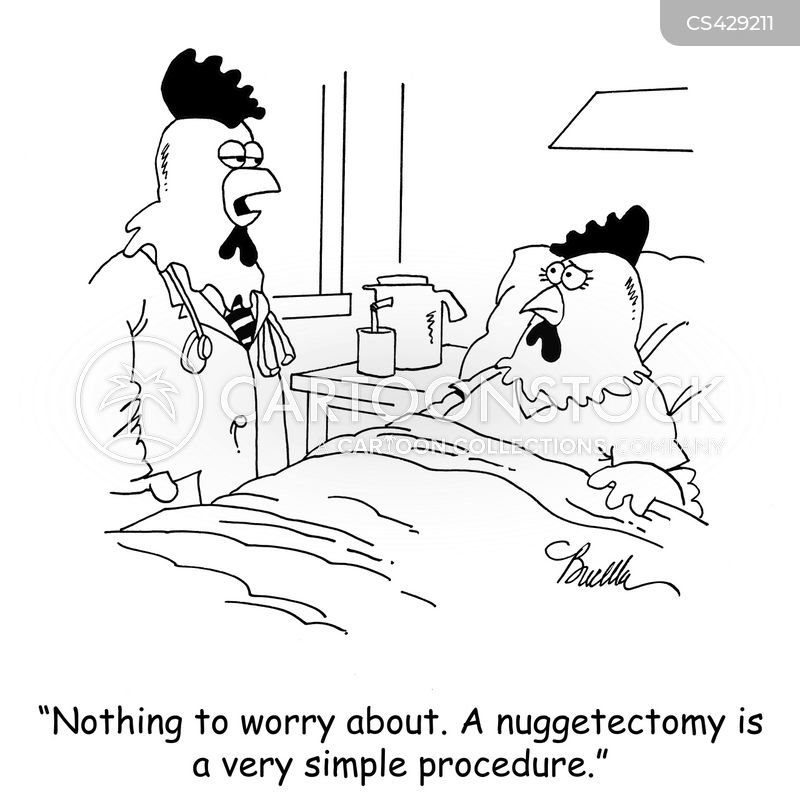 nugget cartoon