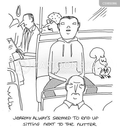 nutters cartoon