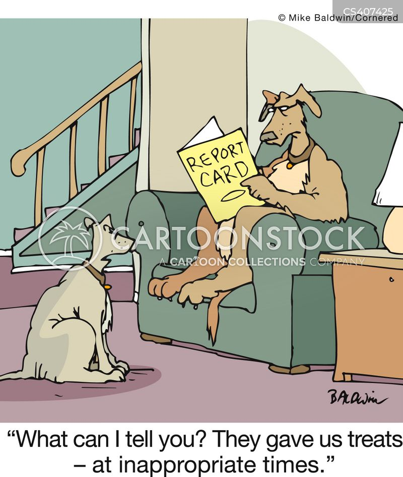 dog treats cartoon