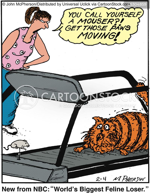 weighs cartoon