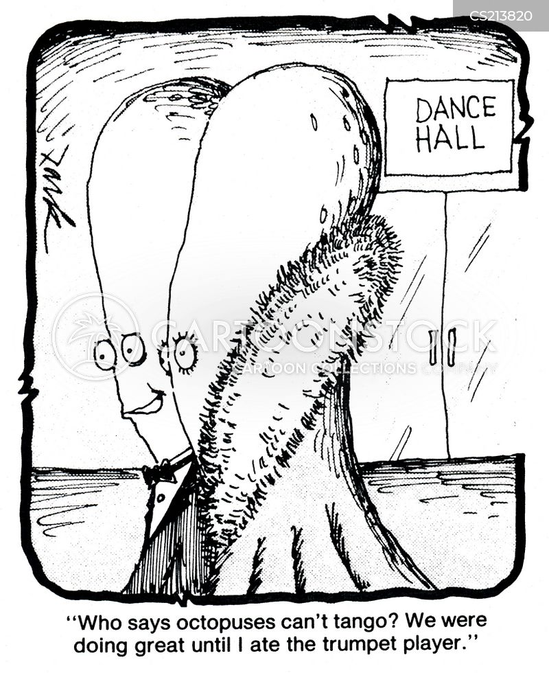 dance hall cartoon