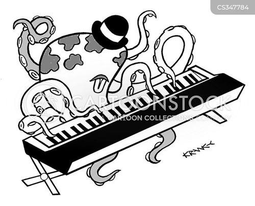 musical skill cartoon