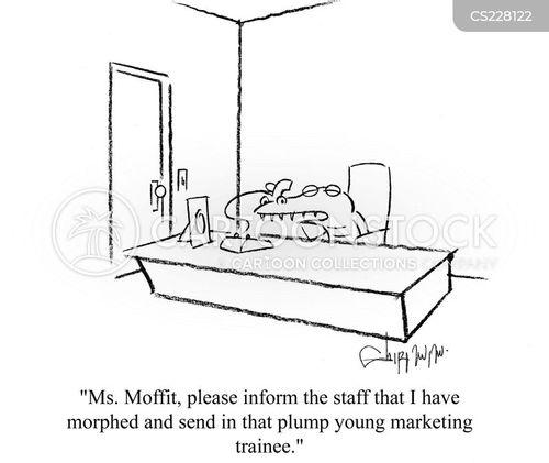 morphing cartoon