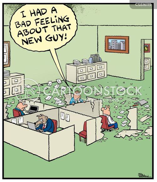 bad feeling cartoon