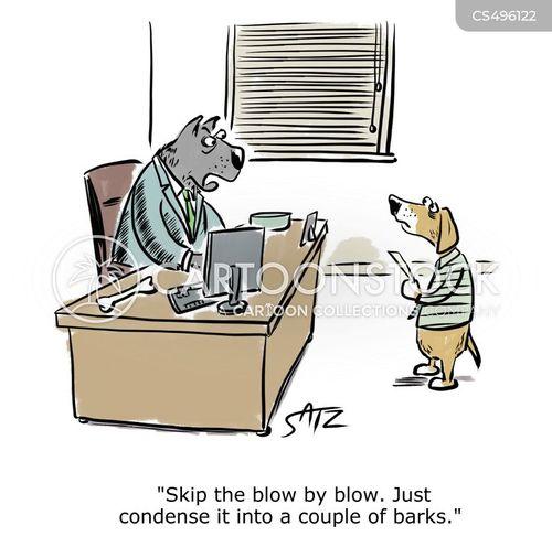 oral report cartoon