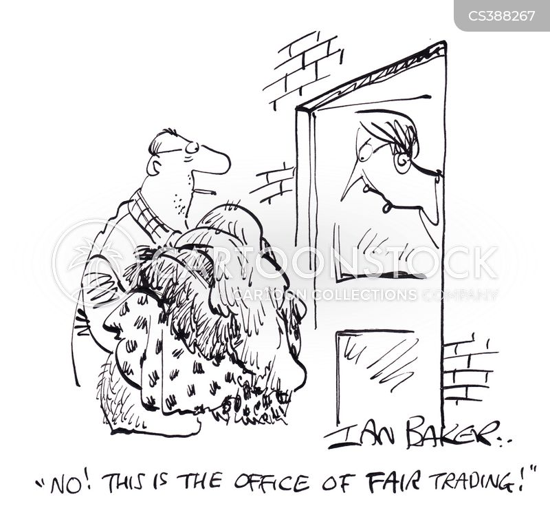 fair trading cartoon