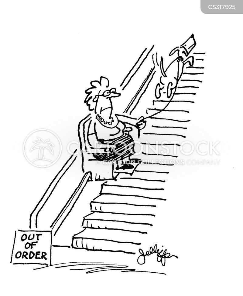 Stair Lifts Cartoons And Comics Funny Pictures From