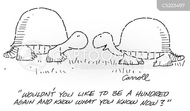 to be young again cartoon