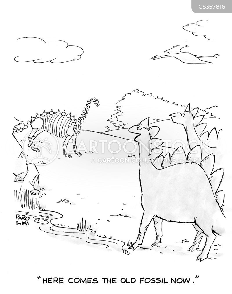 paleantologist cartoon