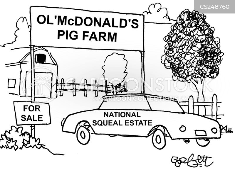 old macdonald cartoon