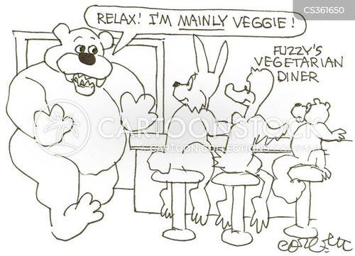 omnivores cartoon