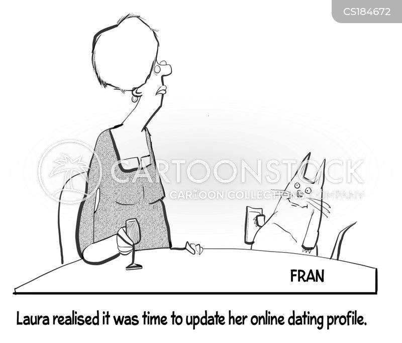 dating profile cartoon