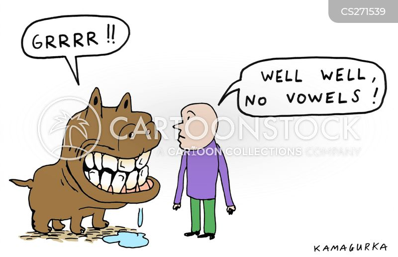 growl cartoon