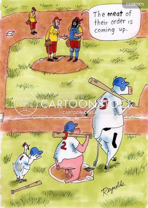 batting order cartoon