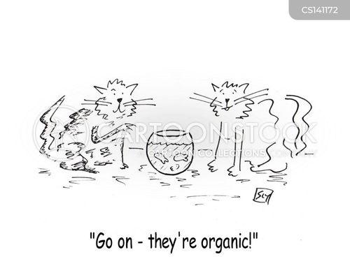 organics cartoon