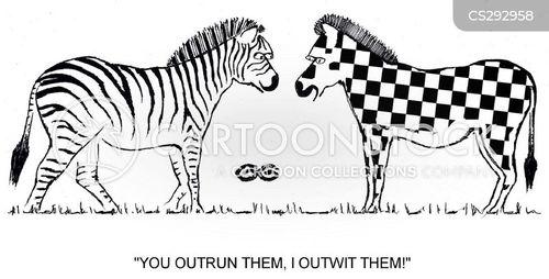 outrun cartoon
