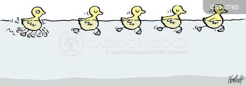 catch-up cartoon