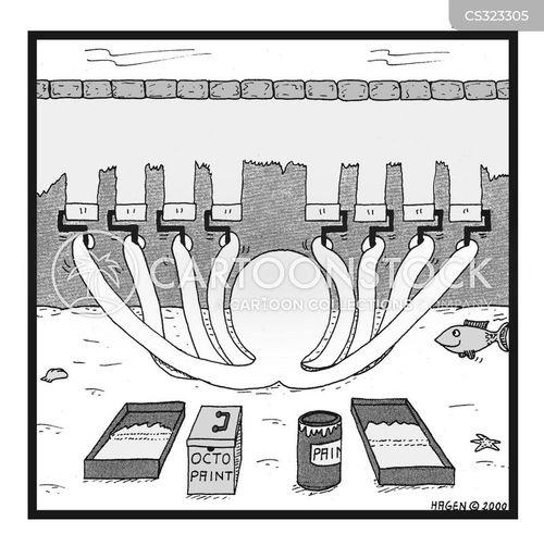 tentacles cartoon