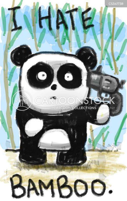 bamboo cartoon